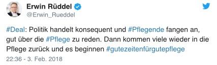 Erwin Rüddel auf Twitter